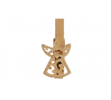Декоративная прищепка Позолоченый ангел, SCB4420004-1
