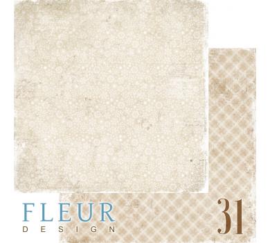 Двусторонний лист бумаги для скрапбукинга Уютный вечер, коллекция Зима винтажная, FD1006004