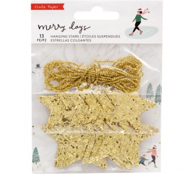 Мини-гирлянда Merry Days Hanging Stars, 344511