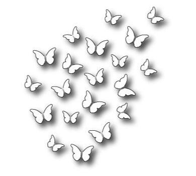 Нож для вырубки Peaceful Butterfly Wings, арт. MB98880