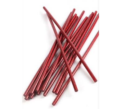 Стержень клеевой для термопистолета красный с блестками, GS07-15