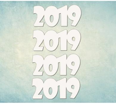Чипборд надписи 2019, ARTCHB004754