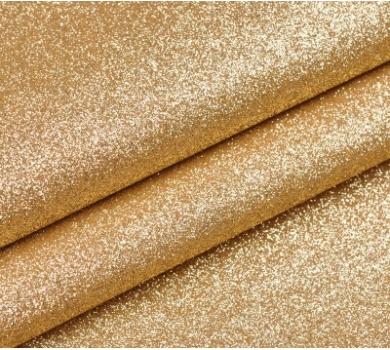 Ткань с глиттером, цвет светлое золото, SC400502