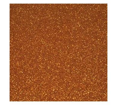 Глиттерный фоамиран оранжевый, Арт. GEVA011