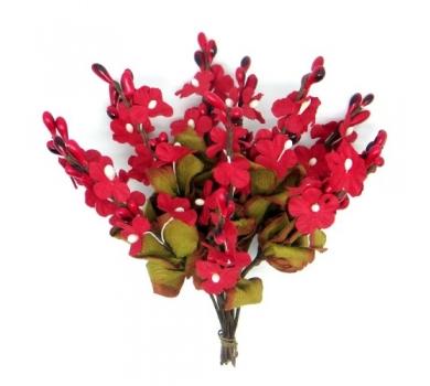 Декоративный букетик мелкие цветочки, DKB181