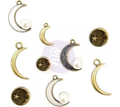 Набор металлических подвесок Metal Trinkets Moon Child, 994747