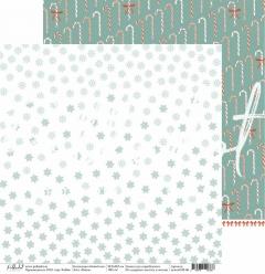 Двусторонний лист Вьюга, коллекция Новый кот, newcat100-06