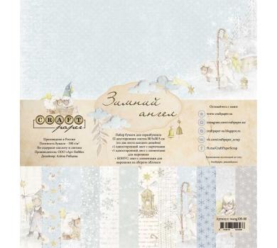 Набор бумаги Зимний ангел, wang100-00