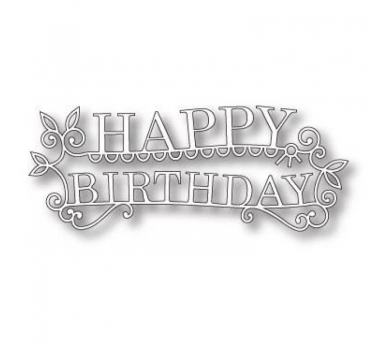 Нож Memory Box, Happy Birthday Extravaganza, 11.9x4.8 cm., 98765