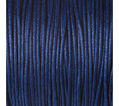 Шнур вощеный темно-синий, JB-01/038