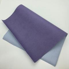 Кожзам (экокожа) на полиуретановой основе с тиснением под питона, цвет лаванда, арт. SC410053