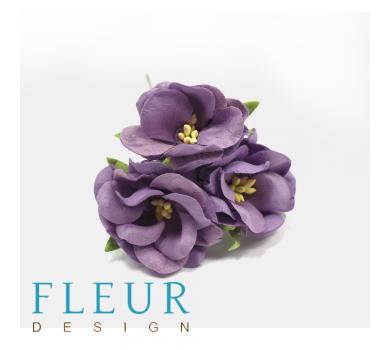 Цветы дикие розы, цвет фиолетовый, арт. FD3123185