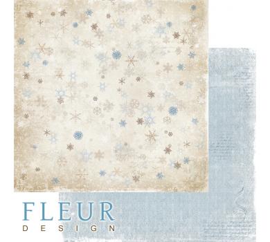 Двусторонний лист бумаги для скрапбукинга Загадай желание, коллекция Зима винтажная, FD1006001