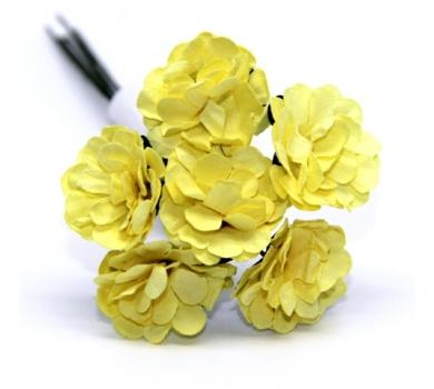 Декоративный букетик желтый, арт. DKB148N