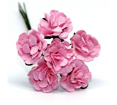 Декоративный букетик розовый, арт. DKB148P