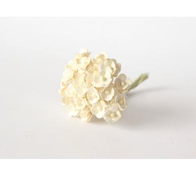 Цветочки Вишни мини, цвет молочный, KA431106