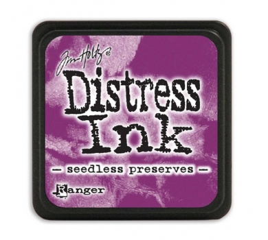 Штемпельная мини-подушечка Tim Holtz Distress Mini Ink Pads на водной основе, цвет варенье без косточек, арт. RI40156