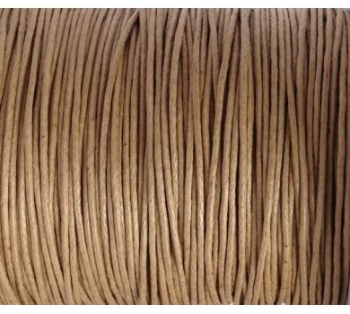 Шнур вощеный коричневый, JB-01/060