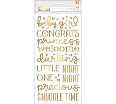 Набор стикеров, коллекция Night Night Baby Girl, 732680