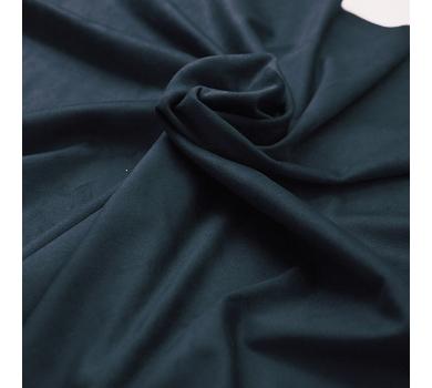 Искусственная замша двусторонняя, цвет темно-синий, арт. 411626