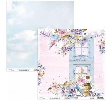 Бумага двусторонняя для скрапбукинга Dreamer by Mintaypapers, арт. MT-DRE-03
