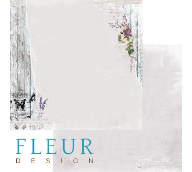 Лист бумаги для скрапбукинга Настроение, коллекция Цветы прованса, арт. FD1003805