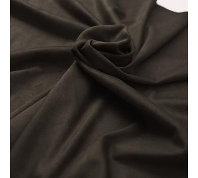 Искусственная замша двусторонняя, цвет шоколад, арт. 401622