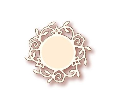 Нож для вырубки Rose Circle - Specialty Die, SD-008