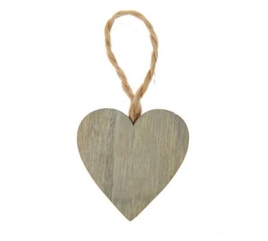 Декоративный элемент Сердечко, подвесной, 3.5см