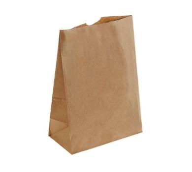 Пакет крафт бумажный фасовочный, 30.5 х 21.5 х 11.8 см, 70 г/м2, 1303313