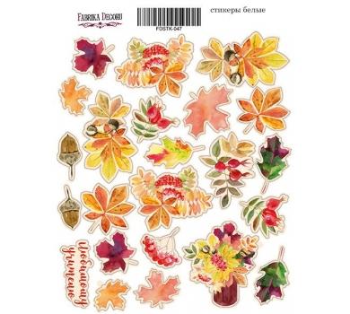 Набор наклеек (стикеров) Autumn-1, 21x16 см, FDSTK-047
