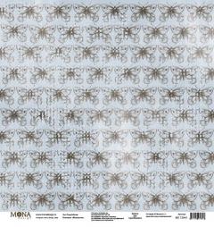 Лист бумаги для скрапбукинга Роща бабочек, коллекция Межсезонье, 72843