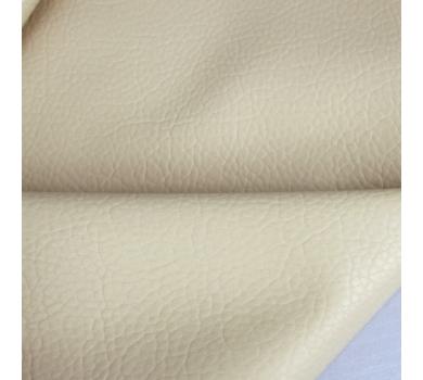 Кожзам на тканной основе с крупным тиснением под кожу, цвет молочный, размер 70х50 см, 130603