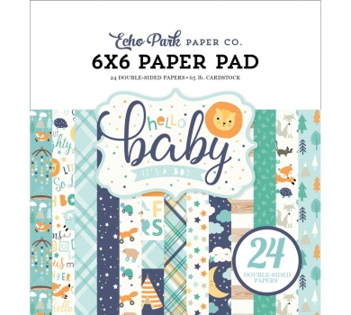 Набор двусторонней бумаги Hello Baby Boy, 172023