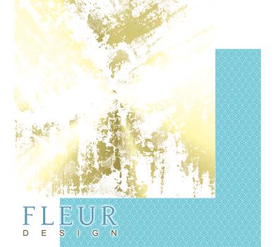 Лист бумаги для скрапбукинга Золотой гранж, коллекция Pretty tiffany, FD1006904