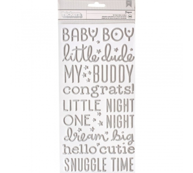 Набор стикеров, коллекция Night Night Baby Boy, 732673