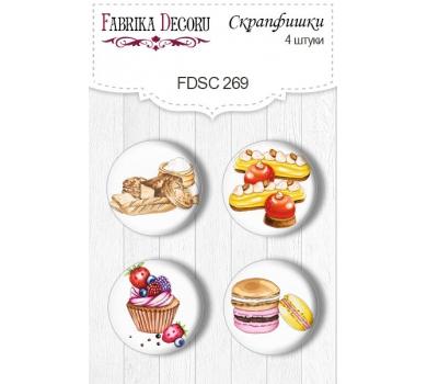 Набор фишек для скрапбукинга Soul Kitchen, FDSC-269