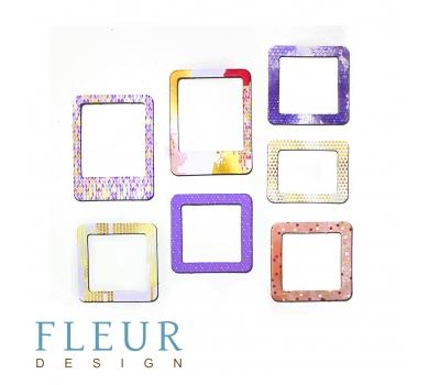 Набор рамочек Нежная сирень коллекция Pretty violet,7 элементов, FD2077005