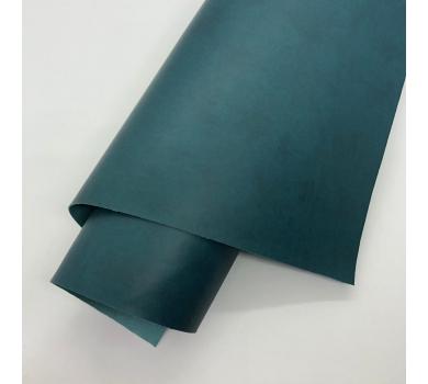 Кожзам (экокожа) на полиуретановой основе, цвет темная ель, арт. SC420073