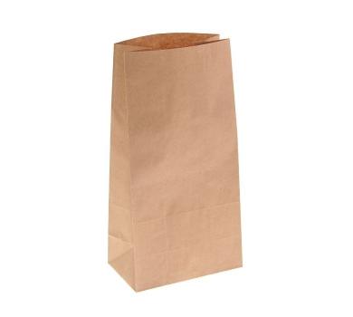 Пакет крафт бумажный фасовочный, 16 х 9.5 х 32 см, 70 г/м2, 1225528