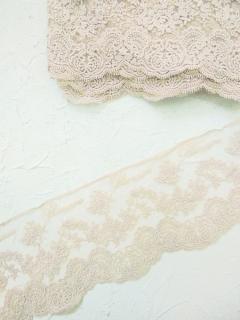 Кружево Blumarin, цвет капучино, арт. BLM003