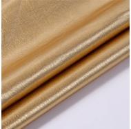 Кожзам с эффектом металлик, цвет темное золото, KA400406