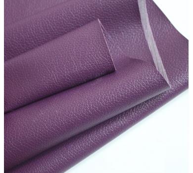Кожзам на тканевой основе, фиолетовый, арт. KA430312