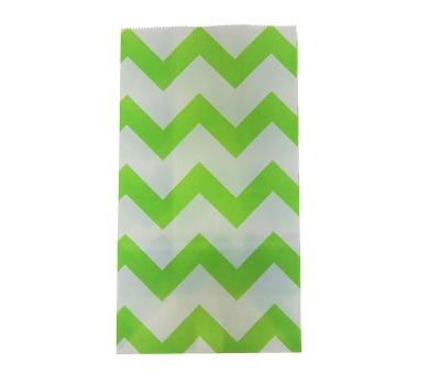 Пакет фасовочный Зеленый зигзаг, 1255142