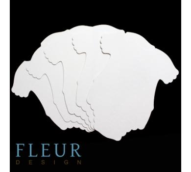 Заготовка для альбома Бодик для девочки от FLEUR design, FD1521007