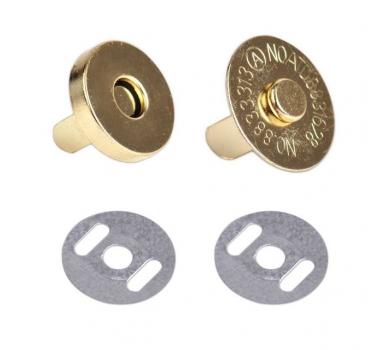 Магнитная кнопка, цвет золотой, 114204