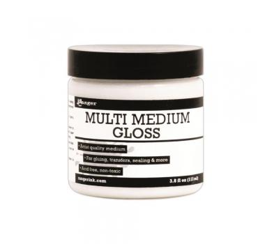 Клей-гель (медиум) Gloss Multi Medium, 113 мл, INK41566