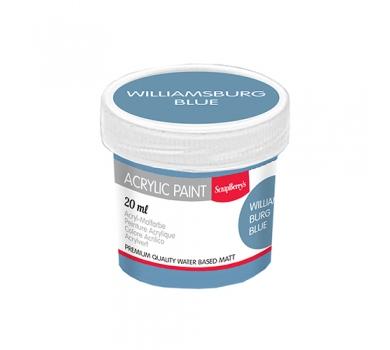 Акриловая краска для декора, цвет Полуночный синий, 20 мл, арт. SCB313118