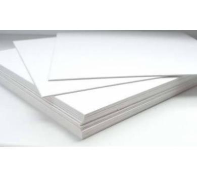 Картон немелованный двусторонний Пивной, размер 20х20 см, 1 мм, 1A01-01.19