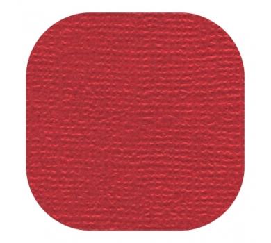 Кардсток текстурированный, цвет пунцовый, 30.5х30.5 см, 235 гр/м, арт. BO-58